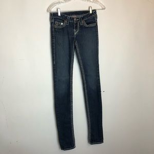 True Religion Skinny Jeans Denim 25 Pockets